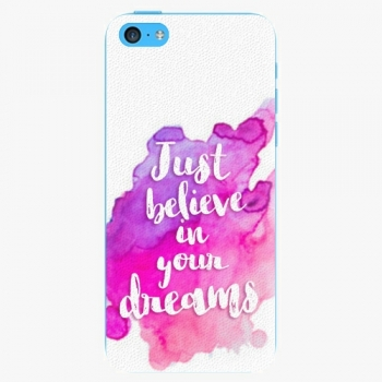Plastový kryt iSaprio - Believe - iPhone 5C