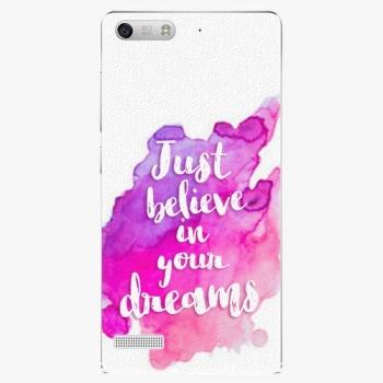 Plastový kryt iSaprio - Believe - Huawei Ascend G6