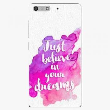 Plastový kryt iSaprio - Believe - Huawei Ascend P7 Mini