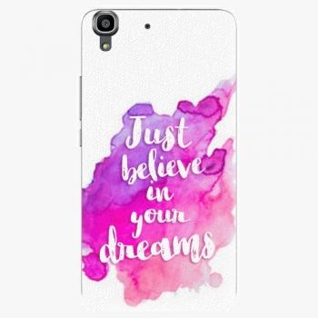 Plastový kryt iSaprio - Believe - Huawei Ascend Y6