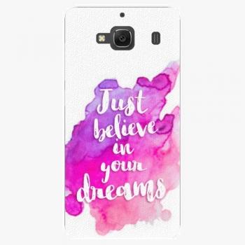 Plastový kryt iSaprio - Believe - Xiaomi Redmi 2