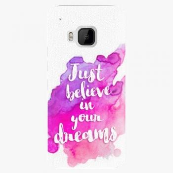 Plastový kryt iSaprio - Believe - HTC One M9