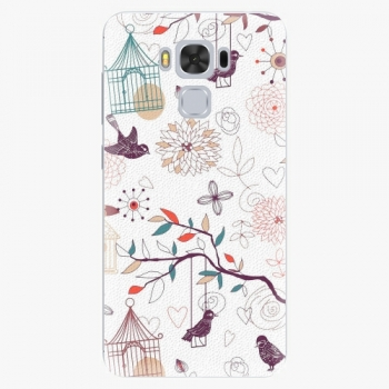Plastový kryt iSaprio - Birds - Asus ZenFone 3 Max ZC553KL