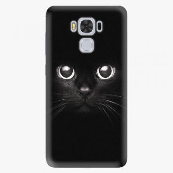 Plastový kryt iSaprio - Black Cat - Asus ZenFone 3 Max ZC553KL