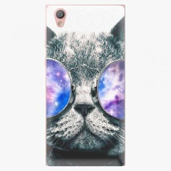 Plastový kryt iSaprio - Galaxy Cat - Sony Xperia L1