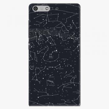 Plastový kryt iSaprio - Night Sky 01 - Huawei Ascend P7 Mini
