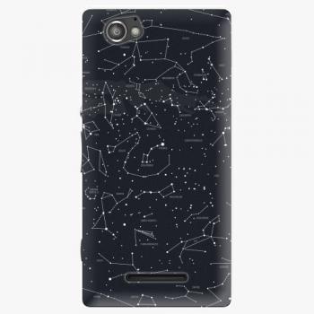 Plastový kryt iSaprio - Night Sky 01 - Sony Xperia M