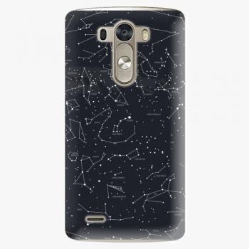 Plastový kryt iSaprio - Night Sky 01 - LG G3 (D855)