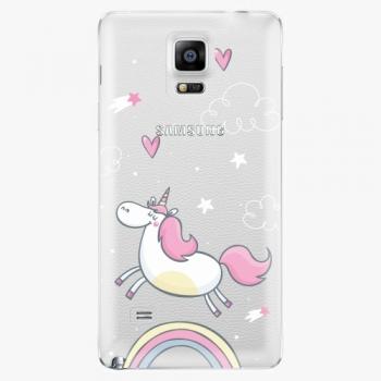 Plastový kryt iSaprio - Unicorn 01 - Samsung Galaxy Note 4