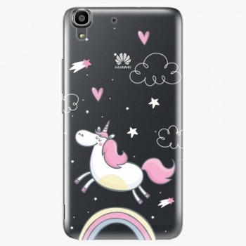 Plastový kryt iSaprio - Unicorn 01 - Huawei Ascend Y6