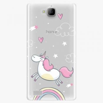 Plastový kryt iSaprio - Unicorn 01 - Huawei Honor 3C