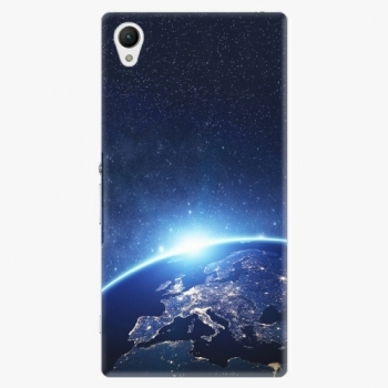 Plastový kryt iSaprio - Earth at Night - Sony Xperia Z1