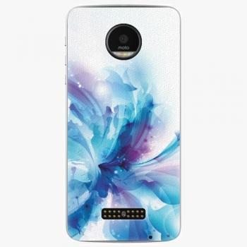 Plastový kryt iSaprio - Abstract Flower - Lenovo Moto Z