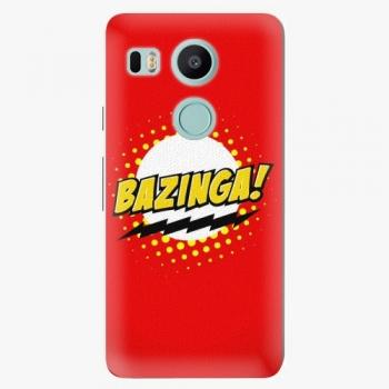 Plastový kryt iSaprio - Bazinga 01 - LG Nexus 5X