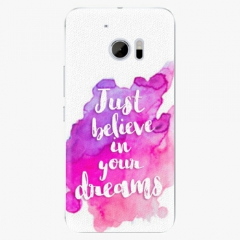 Plastový kryt iSaprio - Believe - HTC 10