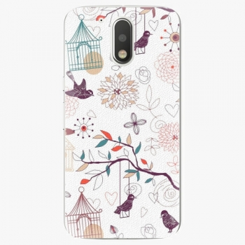 Plastový kryt iSaprio - Birds - Lenovo Moto G4 / G4 Plus