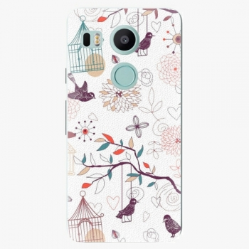 Plastový kryt iSaprio - Birds - LG Nexus 5X