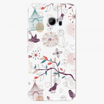 Plastový kryt iSaprio - Birds - HTC 10