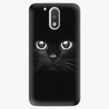 Plastový kryt iSaprio - Black Cat - Lenovo Moto G4 / G4 Plus