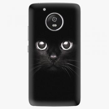 Plastový kryt iSaprio - Black Cat - Lenovo Moto G5
