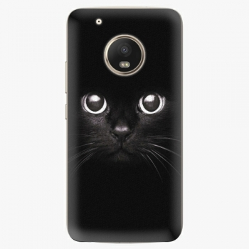 Plastový kryt iSaprio - Black Cat - Lenovo Moto G5 Plus