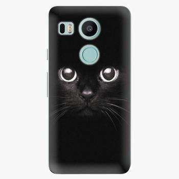Plastový kryt iSaprio - Black Cat - LG Nexus 5X