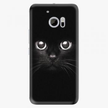 Plastový kryt iSaprio - Black Cat - HTC 10