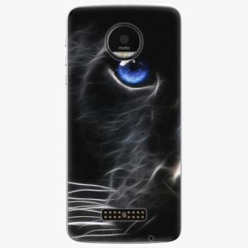 Plastový kryt iSaprio - Black Puma - Lenovo Moto Z