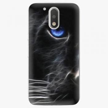 Plastový kryt iSaprio - Black Puma - Lenovo Moto G4 / G4 Plus