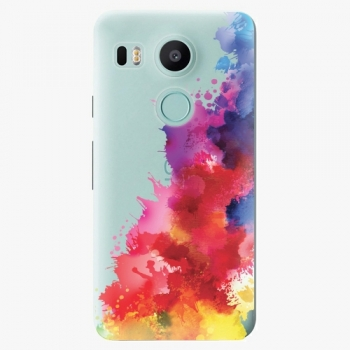 Plastový kryt iSaprio - Color Splash 01 - LG Nexus 5X