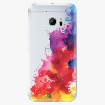 Plastový kryt iSaprio - Color Splash 01 - HTC 10