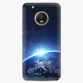Plastový kryt iSaprio - Earth at Night - Lenovo Moto G5 Plus