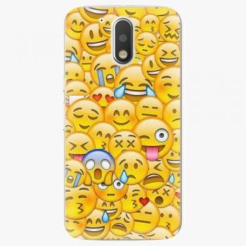 Plastový kryt iSaprio - Emoji - Lenovo Moto G4 / G4 Plus