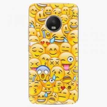 Plastový kryt iSaprio - Emoji - Lenovo Moto G5 Plus