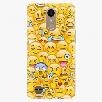 Plastový kryt iSaprio - Emoji - LG K10 2017