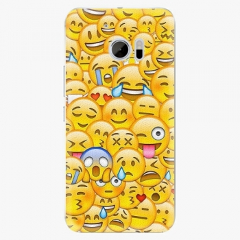 Plastový kryt iSaprio - Emoji - HTC 10