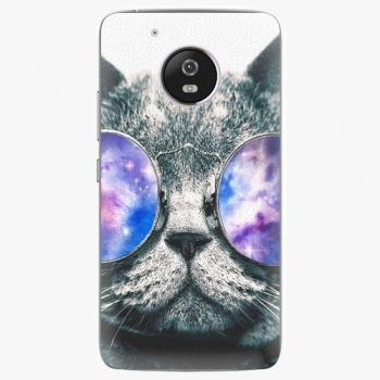 Plastový kryt iSaprio - Galaxy Cat - Lenovo Moto G5