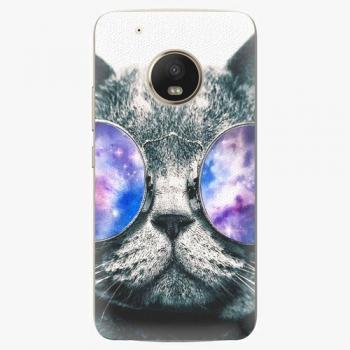 Plastový kryt iSaprio - Galaxy Cat - Lenovo Moto G5 Plus