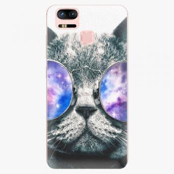 Plastový kryt iSaprio - Galaxy Cat - Asus ZenFone 3 Zoom ZE553KL