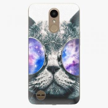 Plastový kryt iSaprio - Galaxy Cat - LG K10 2017