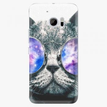 Plastový kryt iSaprio - Galaxy Cat - HTC 10