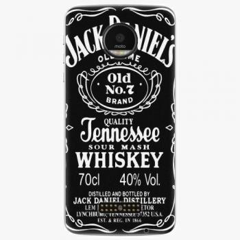 Plastový kryt iSaprio - Jack Daniels - Lenovo Moto Z