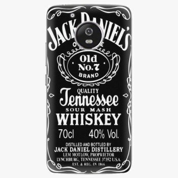 Plastový kryt iSaprio - Jack Daniels - Lenovo Moto G5