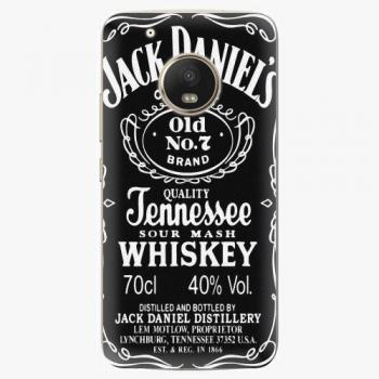 Plastový kryt iSaprio - Jack Daniels - Lenovo Moto G5 Plus