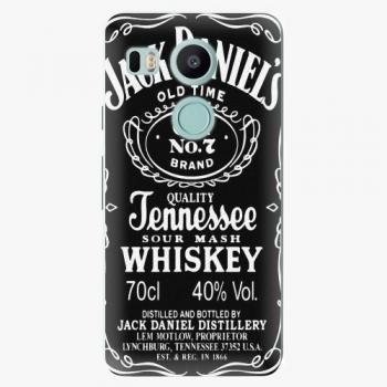 Plastový kryt iSaprio - Jack Daniels - LG Nexus 5X