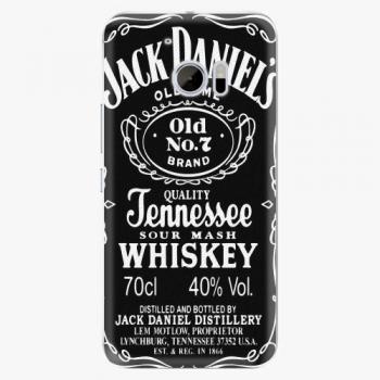 Plastový kryt iSaprio - Jack Daniels - HTC 10