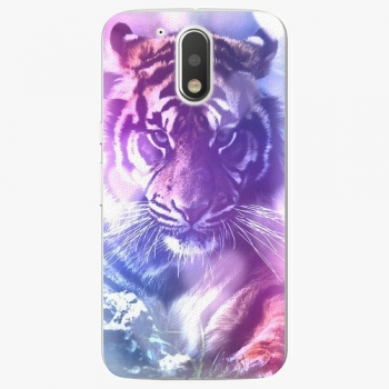Plastový kryt iSaprio - Purple Tiger - Lenovo Moto G4 / G4 Plus