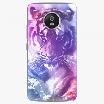 Plastový kryt iSaprio - Purple Tiger - Lenovo Moto G5