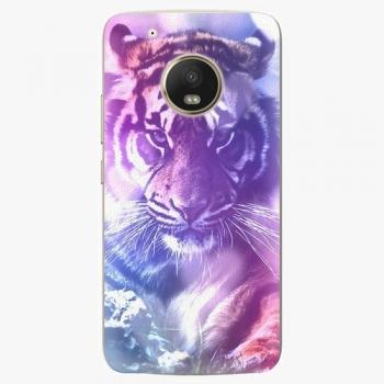 Plastový kryt iSaprio - Purple Tiger - Lenovo Moto G5 Plus