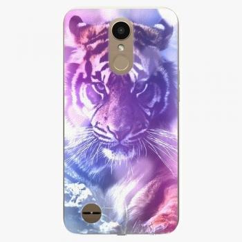 Plastový kryt iSaprio - Purple Tiger - LG K10 2017